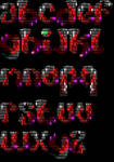 Newskool ANSI Font for TheDraw Called 'Ambushs' by roy-sac