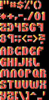 TheDraw ANSI Font 'Tusse' by roy-sac