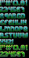 Ansi Font for TheDraw 'Font 26' by roy-sac