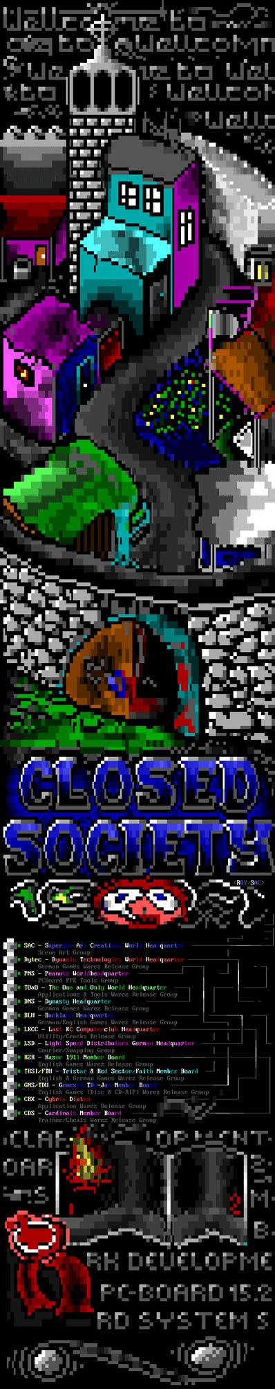 Closed Society ANSI 2X15