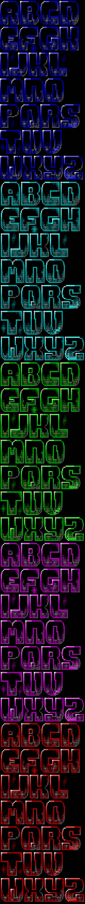 Fate Gate TheDraw TDF ANSI Font