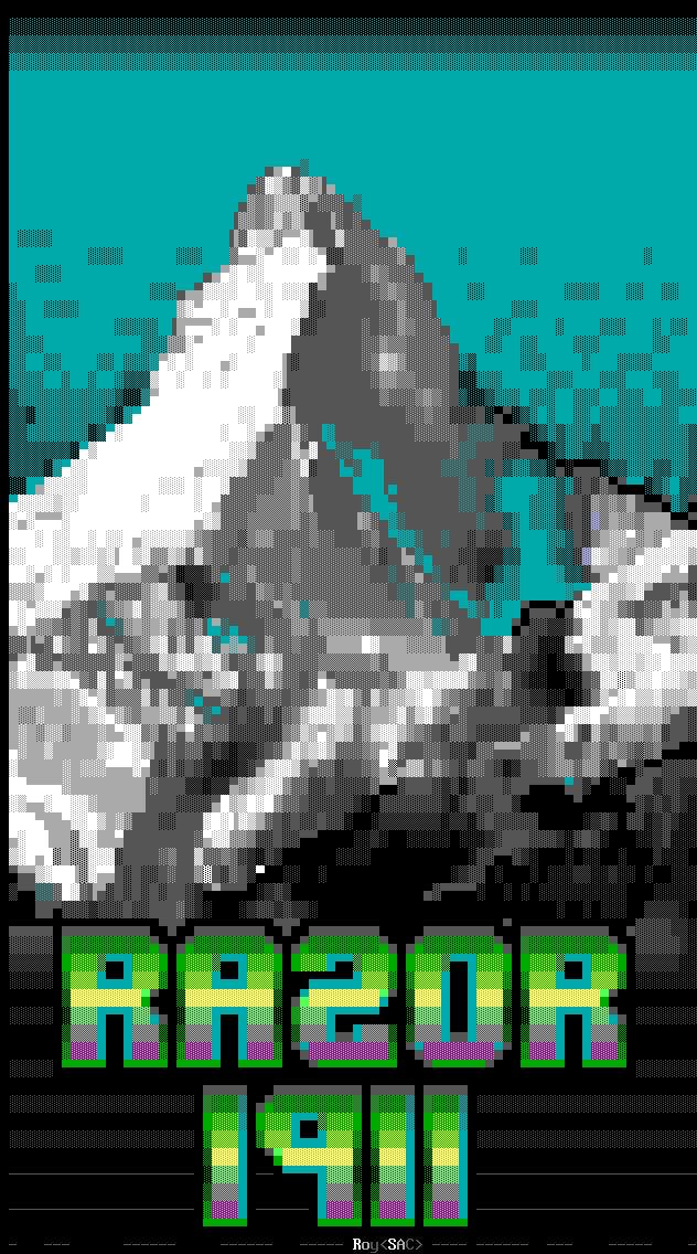 Roy-rzrmh.ans - Razor 1911 Matterhorn ANSI