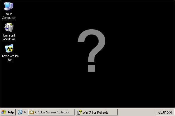 Windows XP Funshot
