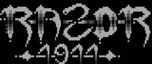 Razor 1911 ASCII Logo 1