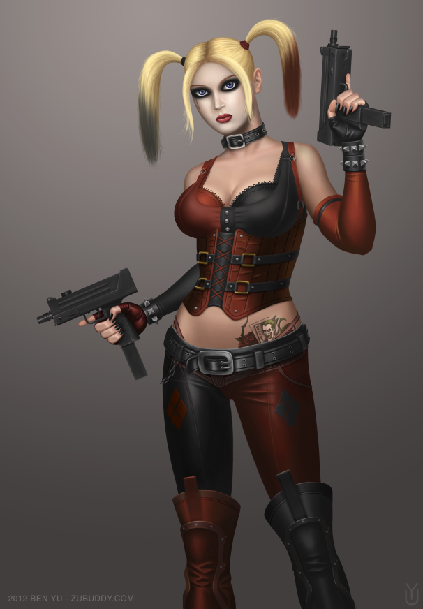 Arkham City Harley Quinn by bx21
