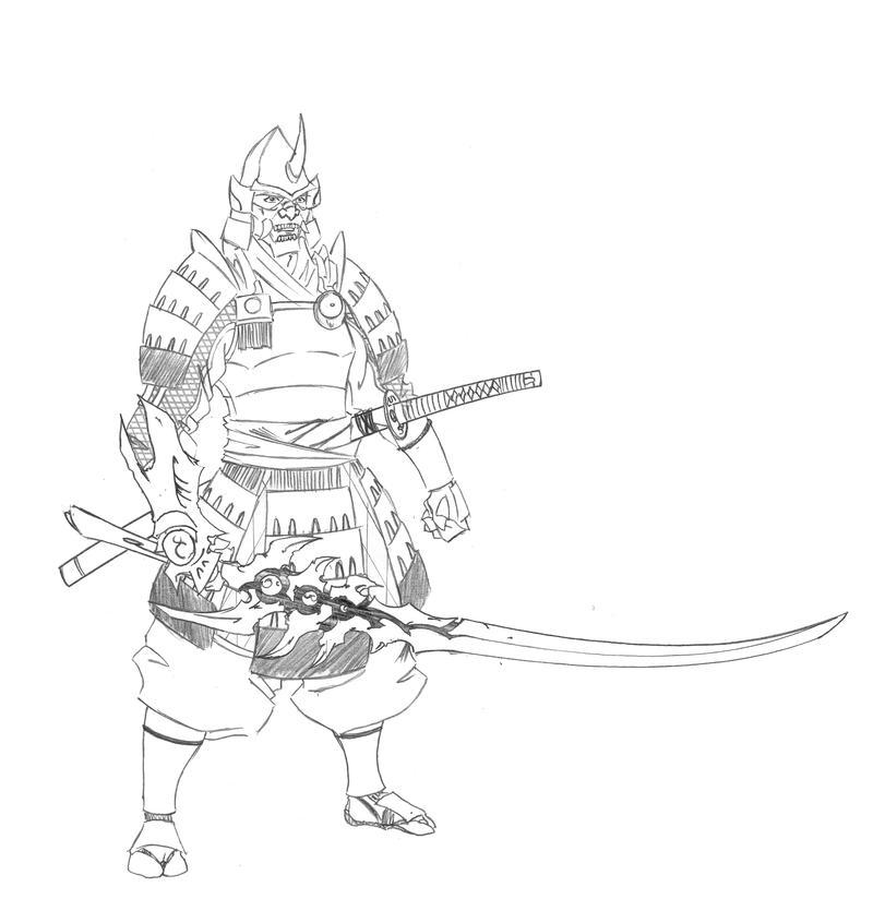 Onimusha Sketch by Ronin-ink on DeviantArt Daario Naharis Arakh