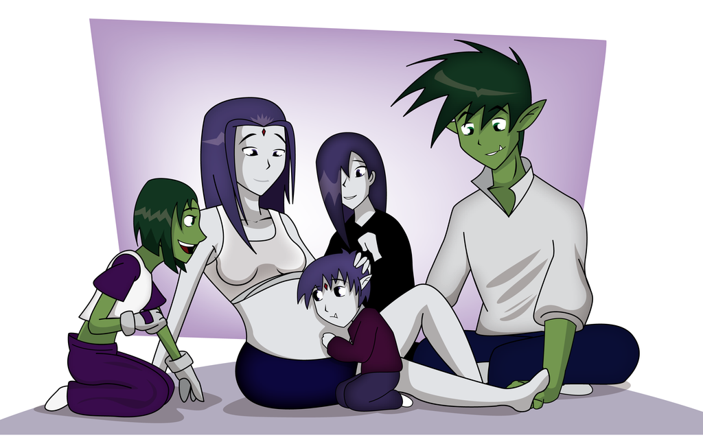 Beast Boy And Raven Have A Baby | 1024 x 647 png 315kB