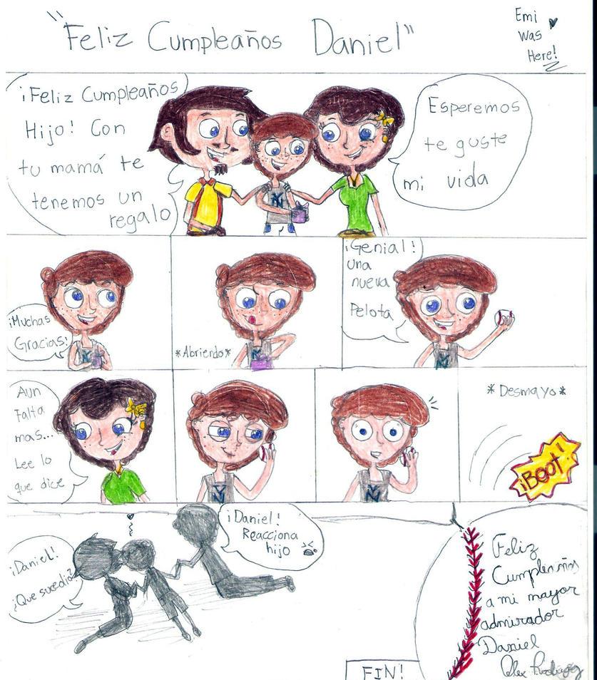 Mini Comic-Feliz Cumple Daniel by EmiWasHereEV
