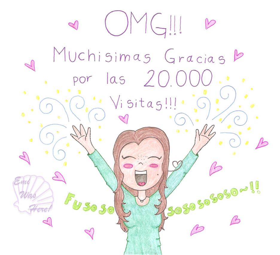 Gracias por las 20.000 visitas! :DD by EmiWasHereEV