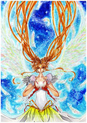 Eternal Princess Serenity by AraBellaDonna