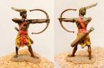 Ancient Nubian archer by VikingFedor