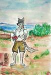 Aleu is archeologist by VikingFedor