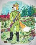 Panzer Fox in Soviet Uniform (1943-1945) by VikingFedor