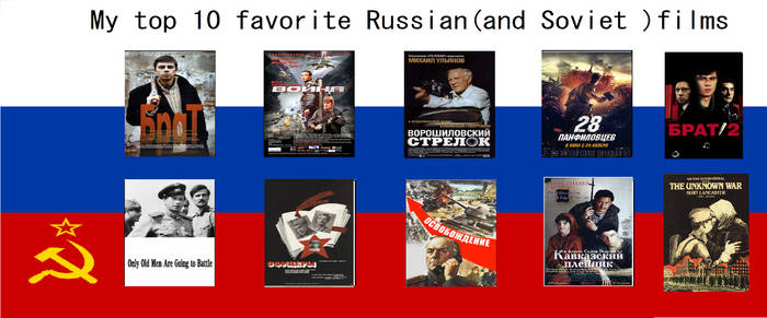 My top of Favorite Russian (and Soviet) films
