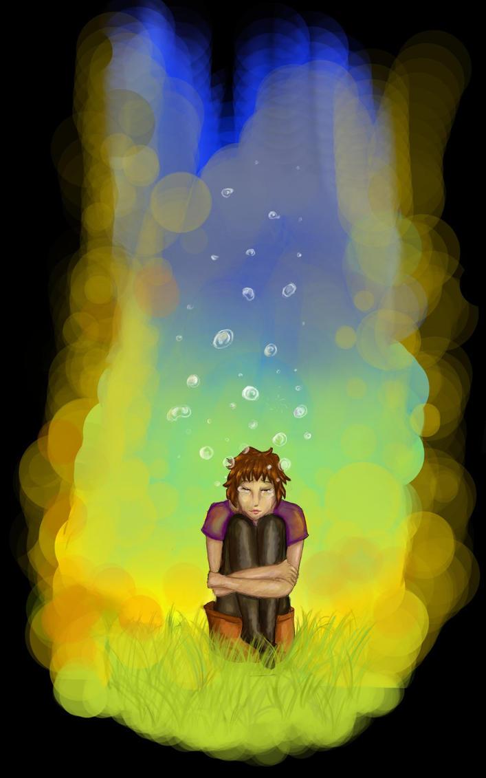 au fil du mine de crayon, 2. - Page 20 Bubble_dream_by_aosei-d5c5rqv