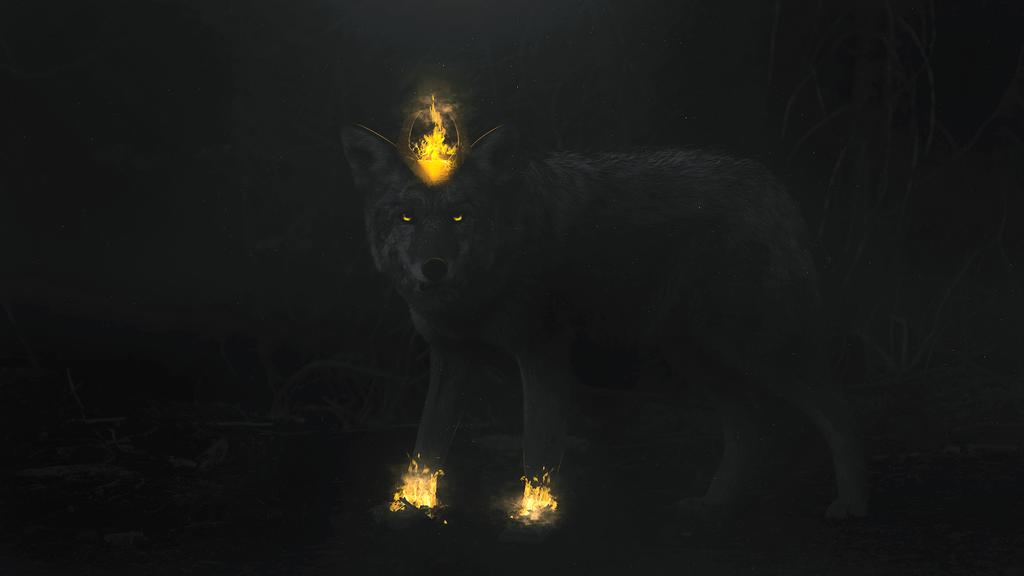 Mystical Wolf by markgregoryyap