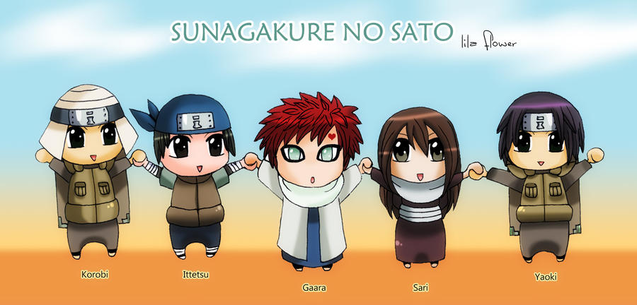 Sunagakure Shinobis And Kazekage By Lila Flower On Deviantart