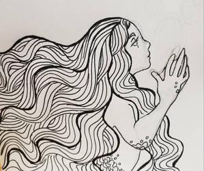 Flowy Hairmaid