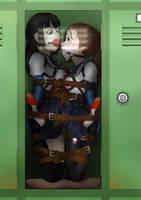 Girls Bonding Time 2 - Door Removed by Akabane85