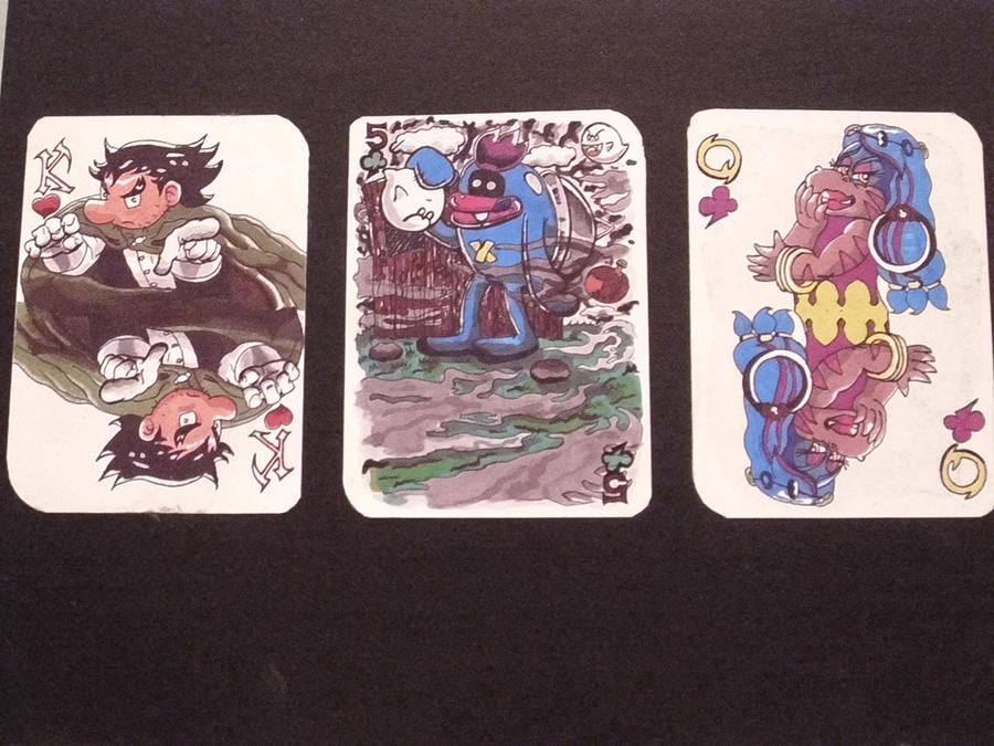 Playing Cards -Super Mario- by NoneOnly