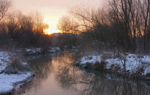 Winter sunrise I by starykocur
