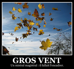 Gros vent Poster