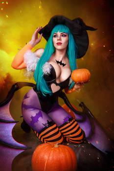 Morrigan Aensland Halloween