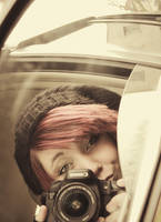 person in mirror by xdanymolokoma