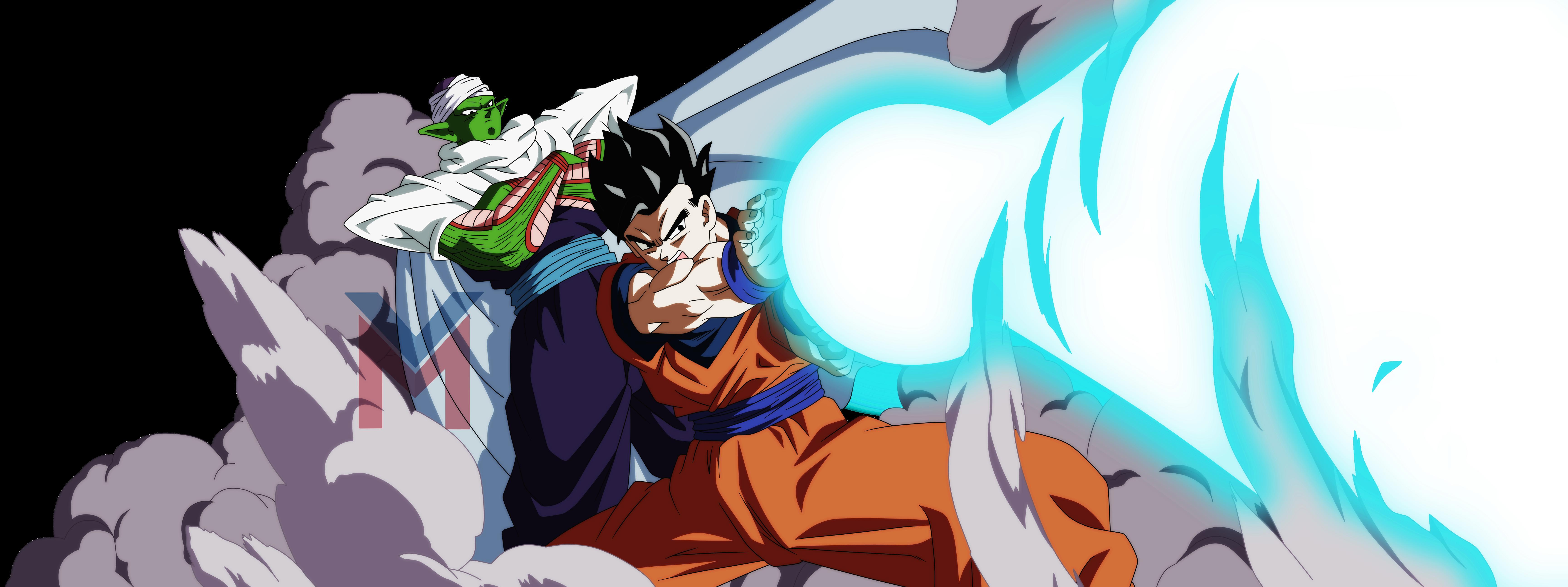 Dragon Ball Super - Gohan, Piccolo (Color) by ...