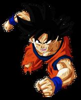 Goku - Ending 9 by VictorMontecinos