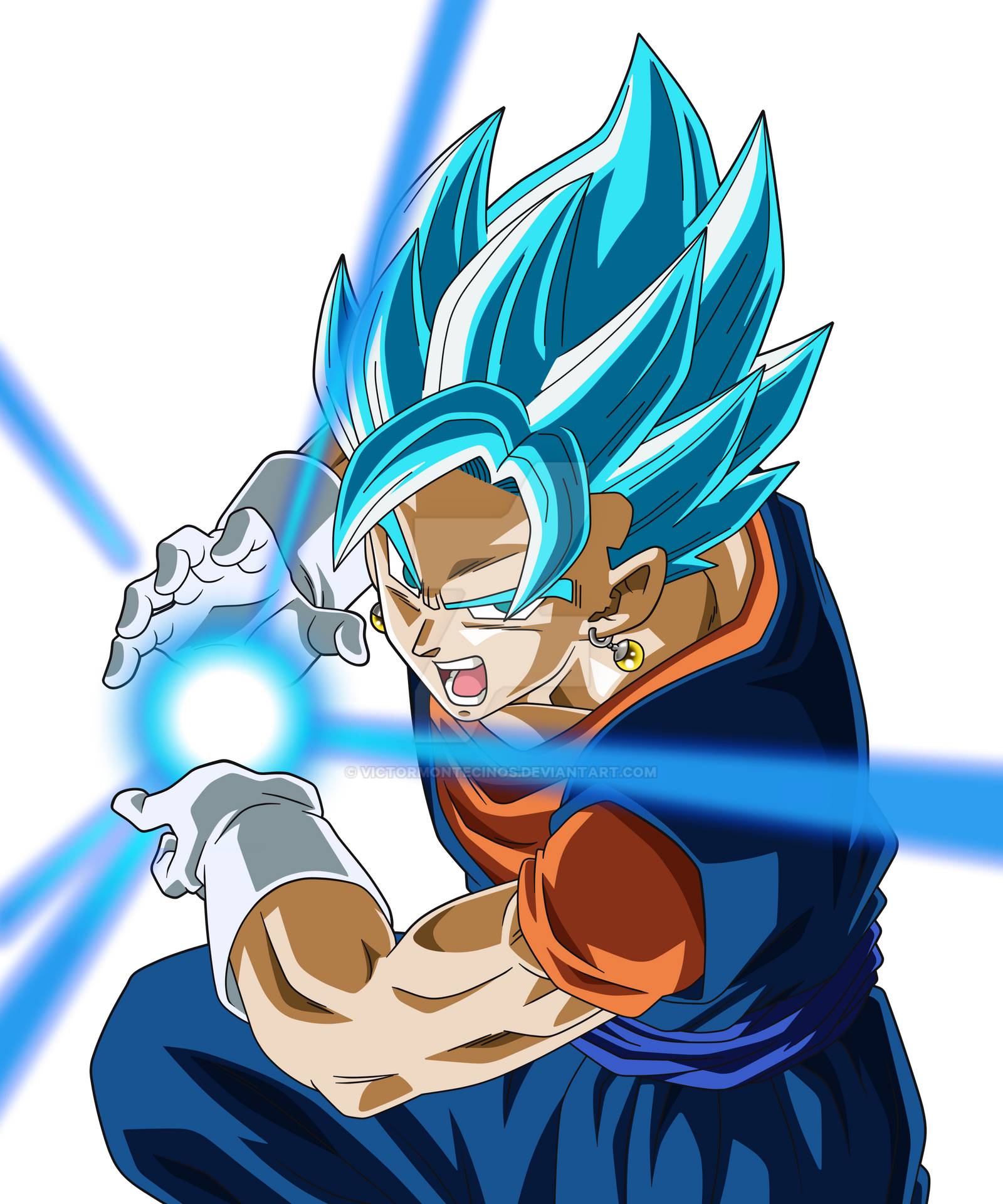 Dragon ball super vegetto blue by victormontecinos on - Dragon ball vegeto ...