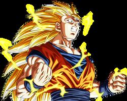 Goku SSJ 3 by VictorMontecinos
