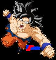 Ultra Instinct Goku by VictorMontecinos