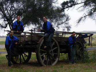 Surrounding a Cart