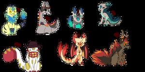 Creature Adopts 3!! [CLOSED] by Seiishin