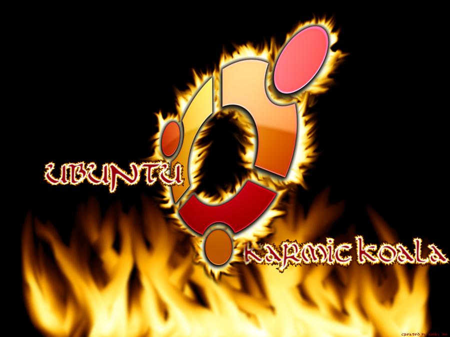 burning koala by n0ky
