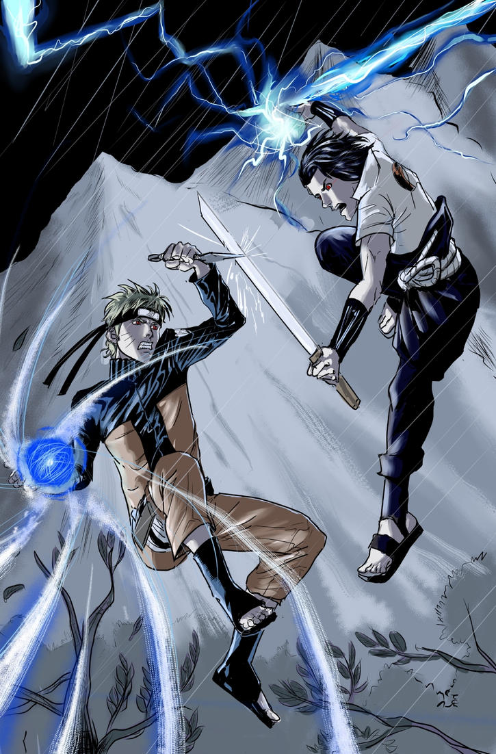 Naruto vs sasuke by alfred183 on deviantart - Naruto as sasuke ...