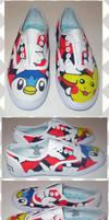 Pokemon Shoes by Lai-Tut
