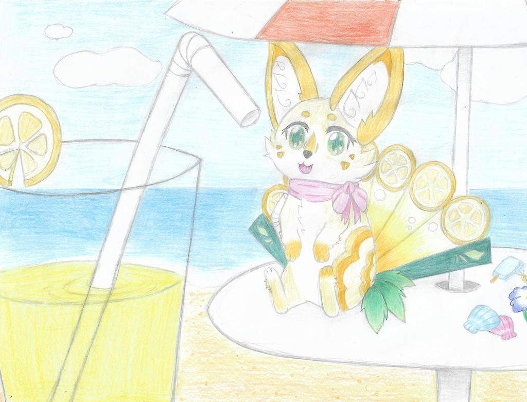 Foxfan DTA 2017 - Entry 1 - When I was younger by EkanaCat777