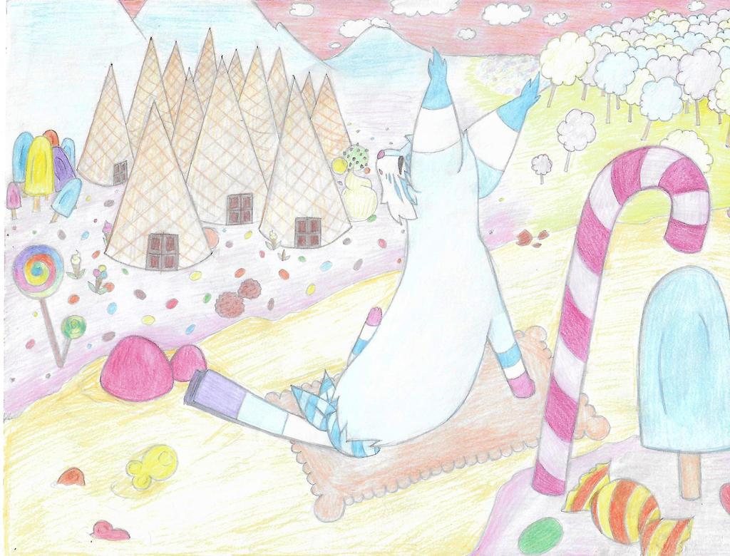 Foxfan DTA 2017 - Entry 3 - Candy paradise by EkanaCat777