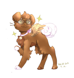 Gift/Apology for Starry-Rue - A Precious Bean by EkanaCat777