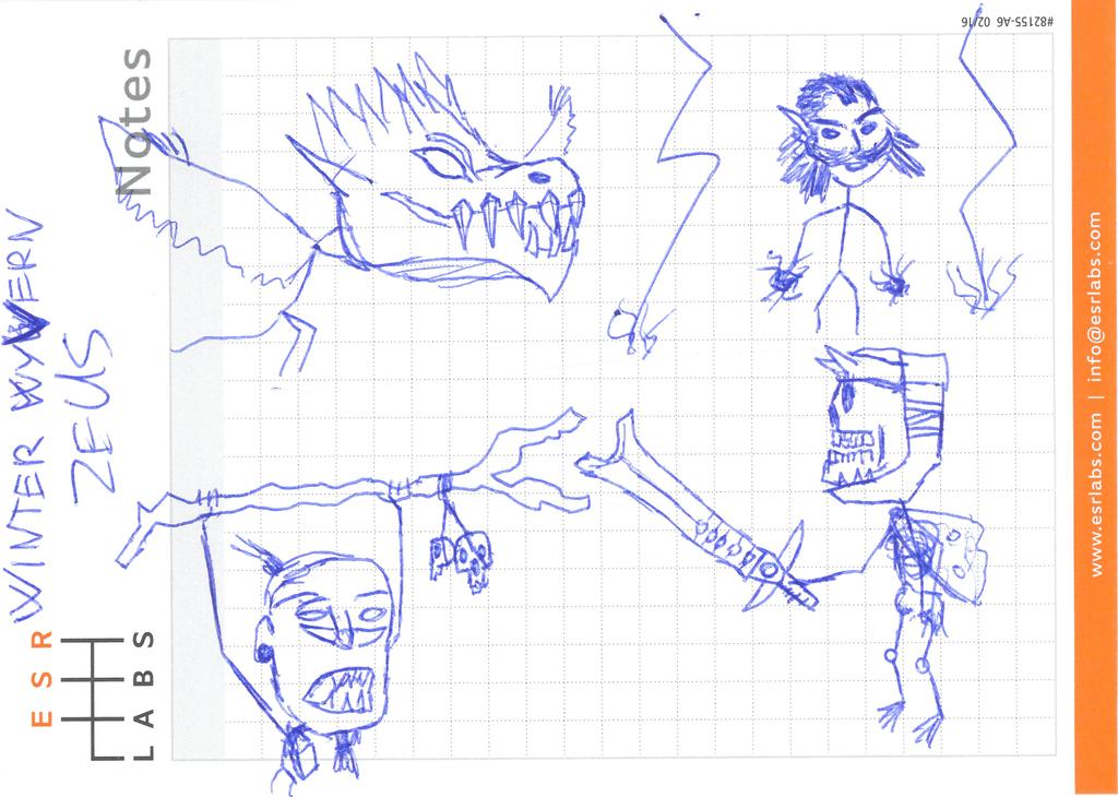 Dota 2 stickfigures: Winter Wyvern - Zeus by shinarit