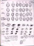 Face Shapes and Eyes: Style reference Two
