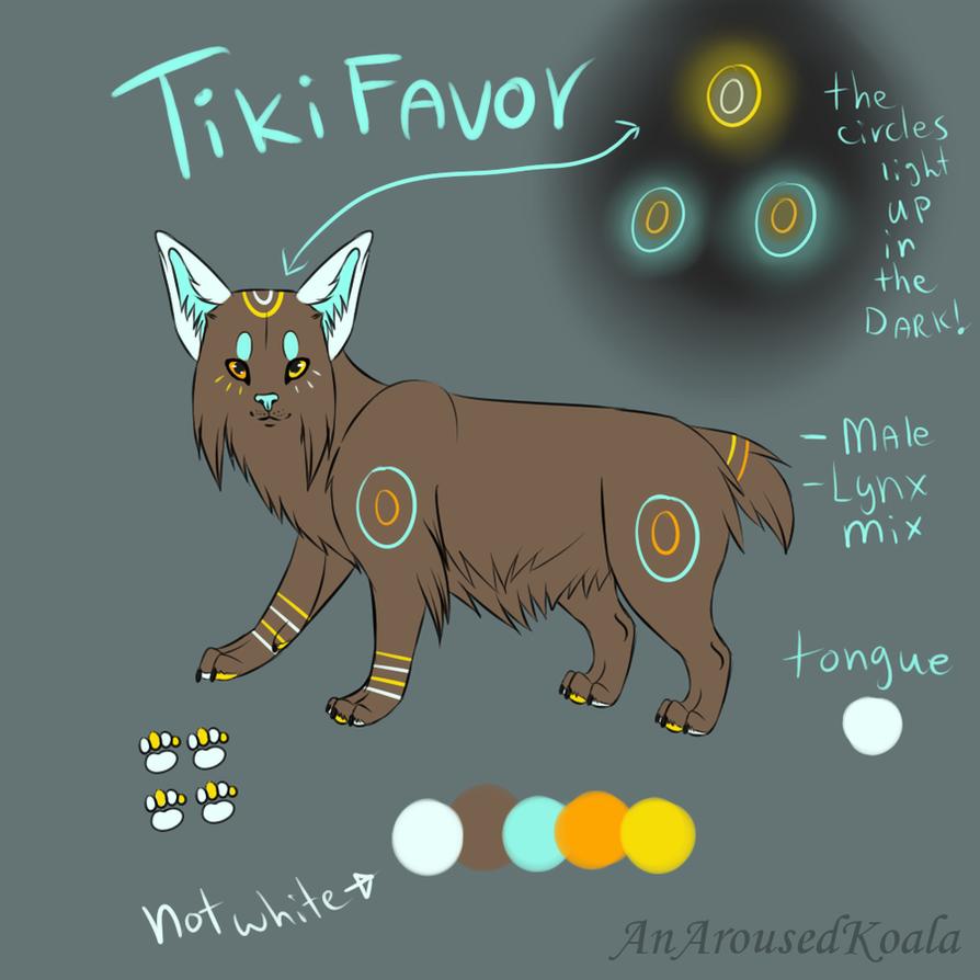 TikiFavor Adoptable (TAKEN) by PawesomeSauce