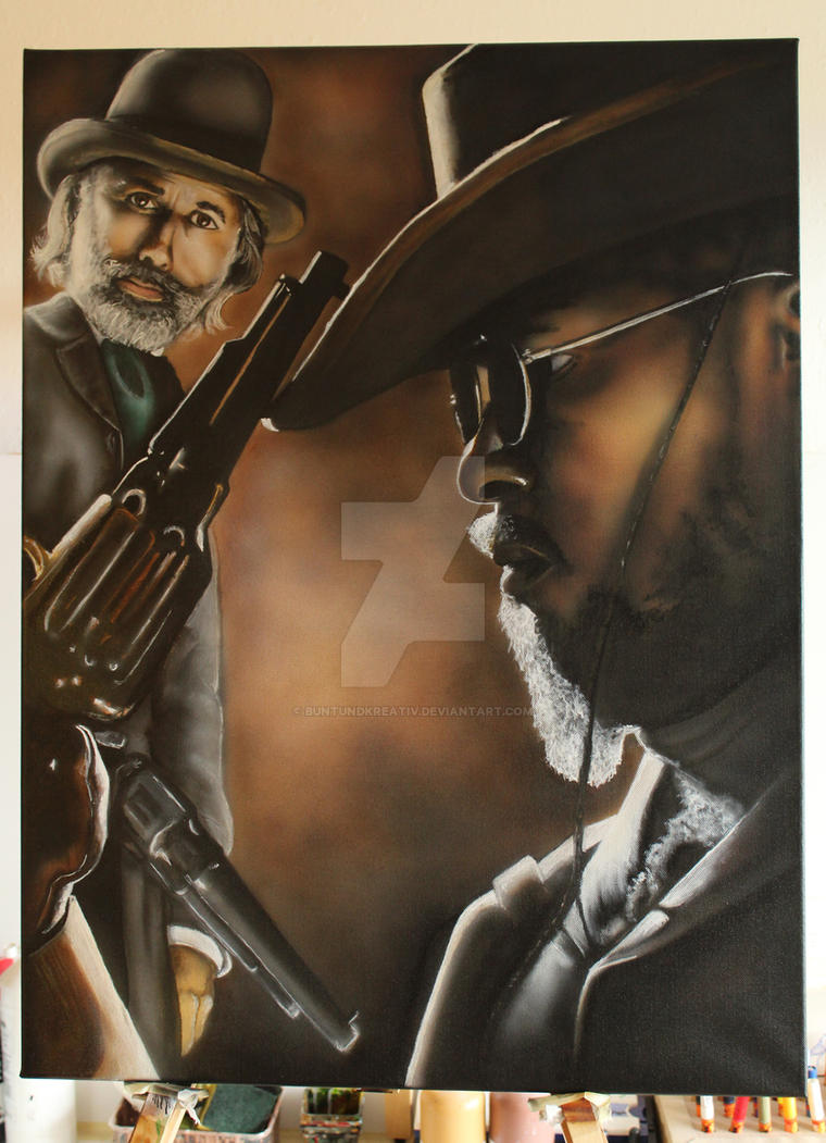 DJANGO UNCHAINED by buntUNDkreativ
