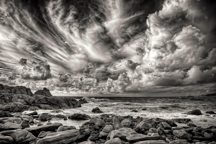 Coastal Skyline by Aztil