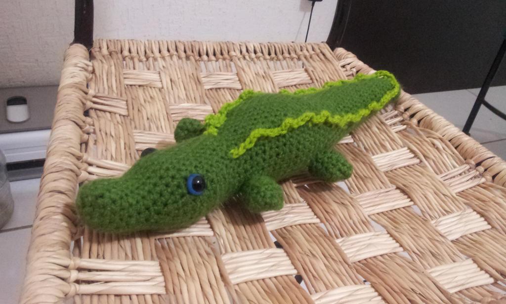 Amigurumi Alligator Free Pattern : Crocodile amigurumi by BlinkWolf on DeviantArt