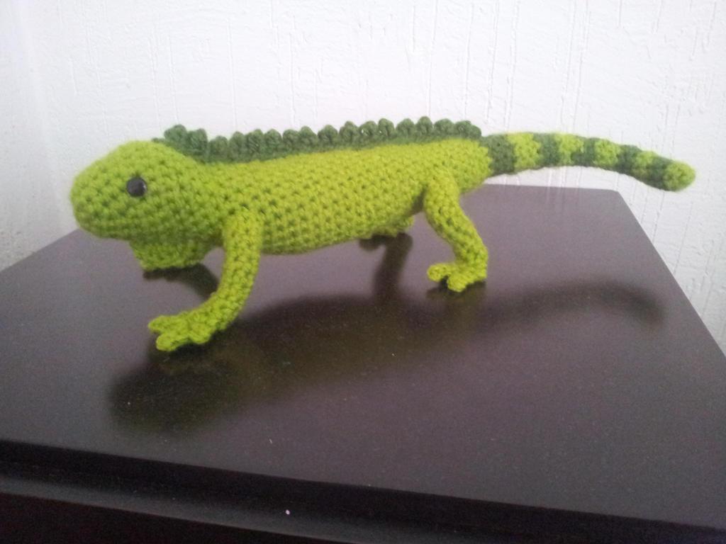 Amigurumi Iguana by BlinkWolf on DeviantArt