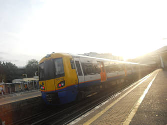 Overground Sunset