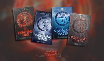 Fighting Fire - Wattpad Book Covers by SkaWhiteraven